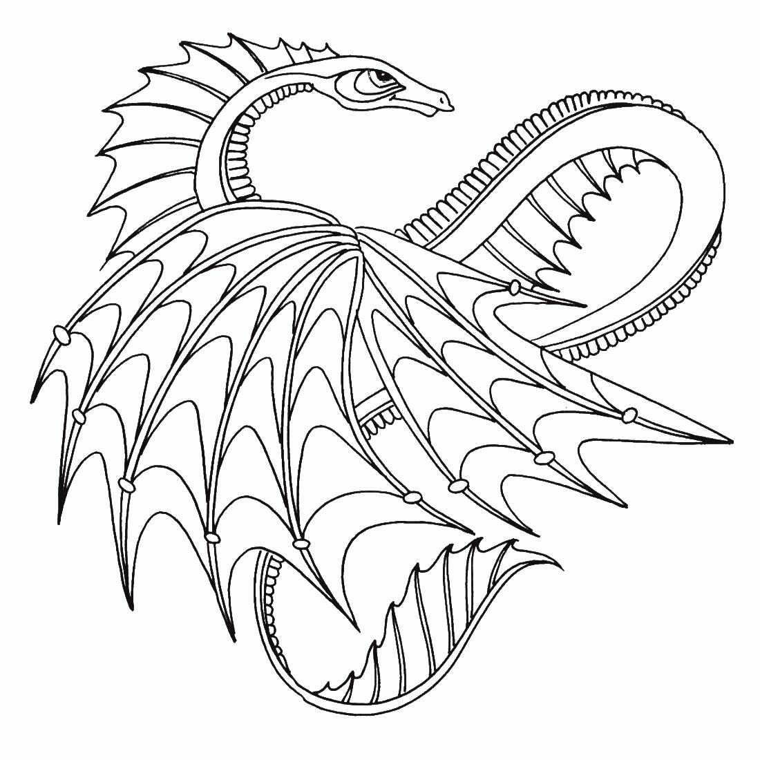 Картинки драконы для распечатки