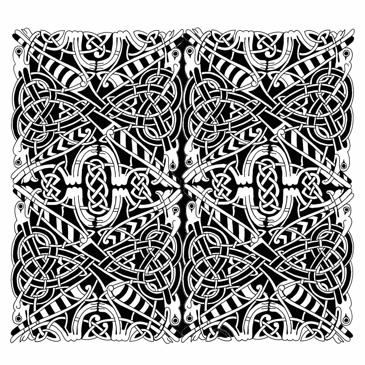 Эльфийский орнамент картинки